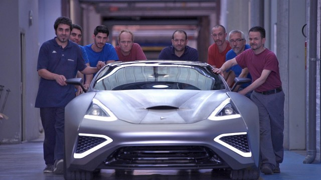 First Titanium Supercar Team