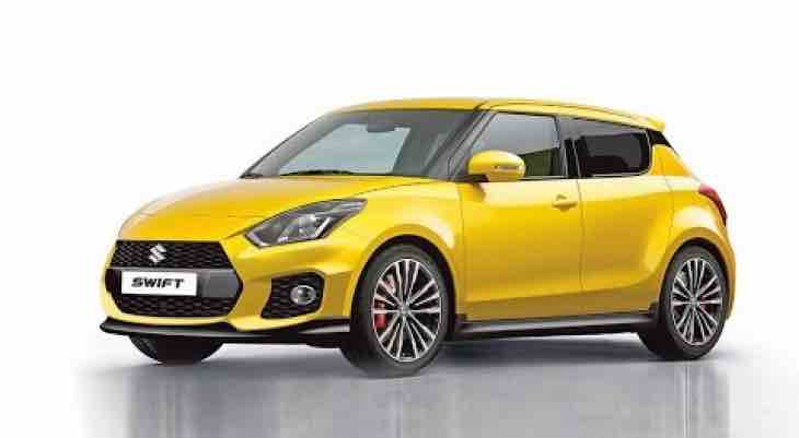 New Suzuki Swift render