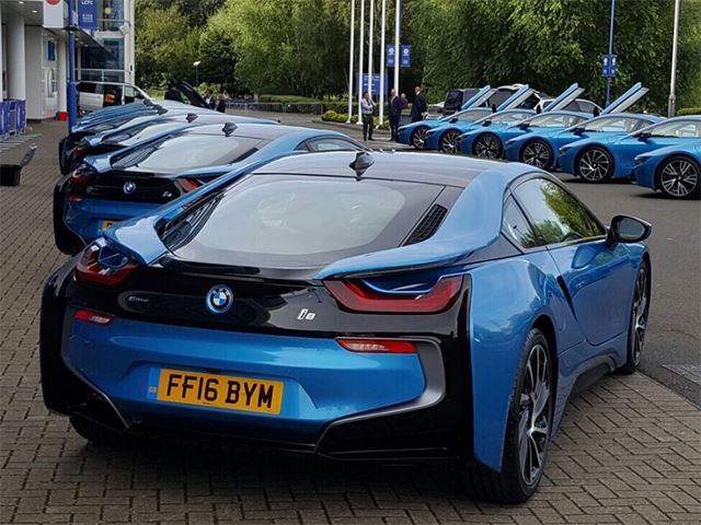 BMW I8 Cars Gifted By Leicester City FC To Each Of Its 19 Players