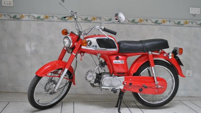 Honda_CD70_Early_Model