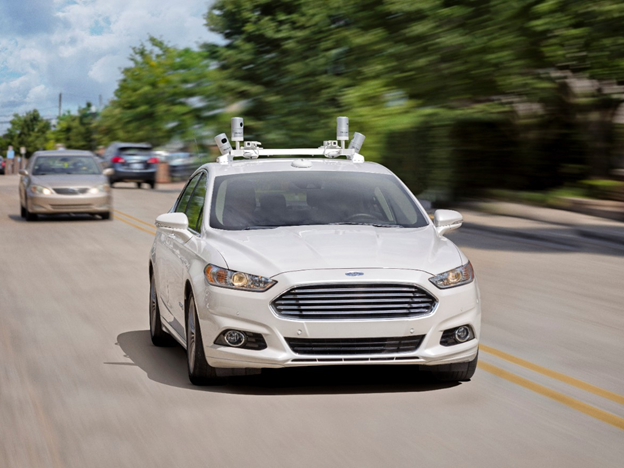Ford-autonomous-car