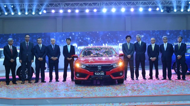 All Honda Civic 2016 Launched in Pakistan