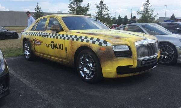 Rolls-Royce Ghost Taxi 3