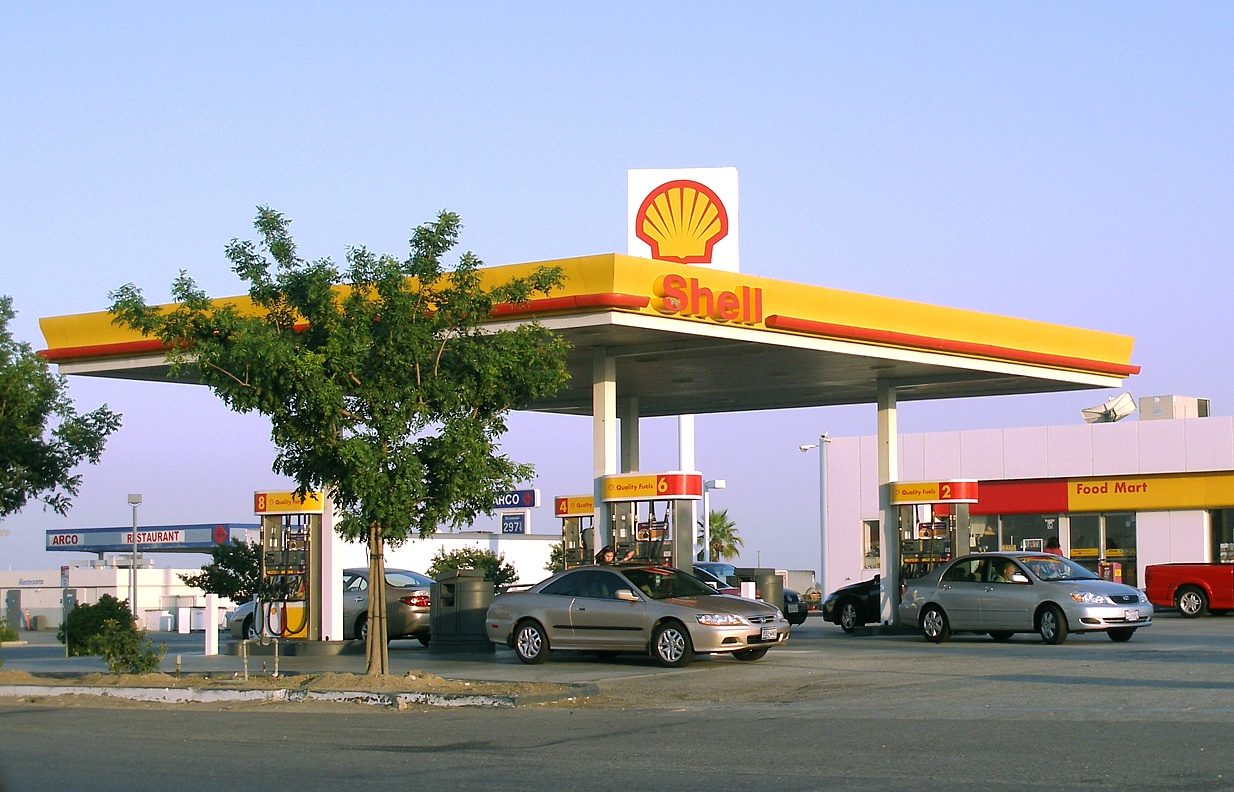 Shell Petrol Pump 1
