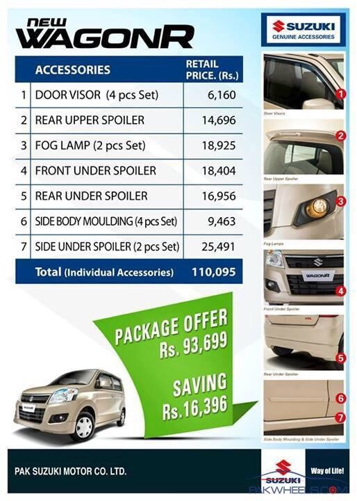 Suzuki Wagon R Accessories