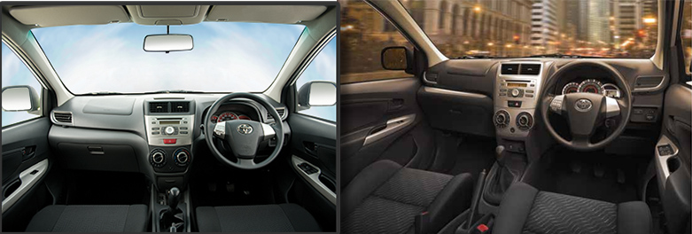 Toyota Avanza Interior facelift in Pakistan