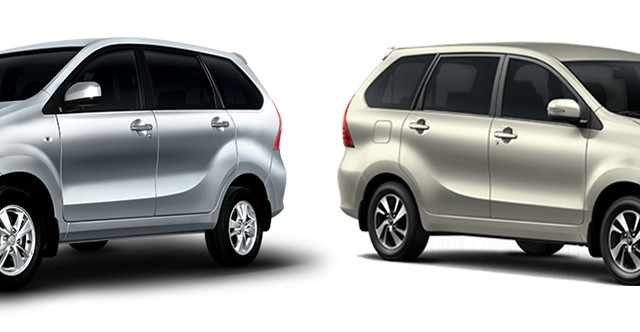 Toyota Avanza Old VS New exterior