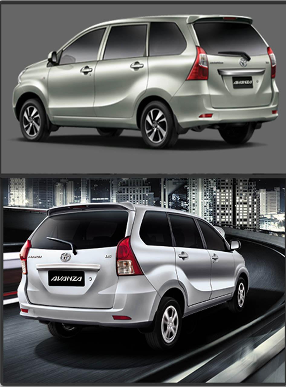 Toyota Avanza Rear facelift in Pakistan