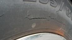 dry rot tyre