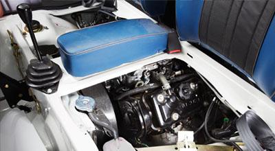 engine Suzuki Ravi