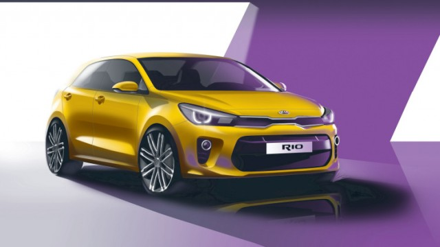 All New Kia Rio To Make An Appearance At The Upcoming Paris Motor