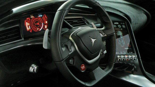 Titanium Supercar Dashboard