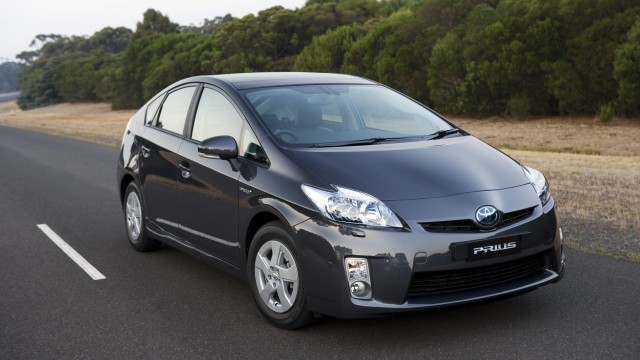 Toyota's next-generation Prius featuring Hybrid Synergy Drive technology