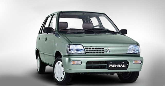 Suzuki Mehran in Pakistan