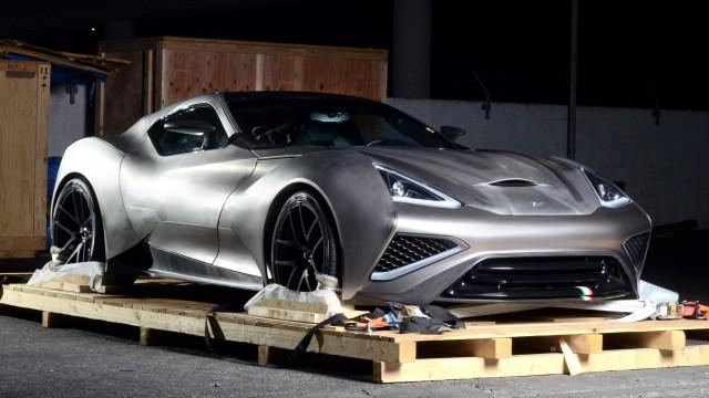 Titanium Supercar