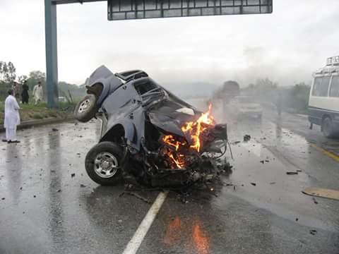 Toyota Vigo accident