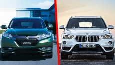 BMW X1 vs Honda Vezel