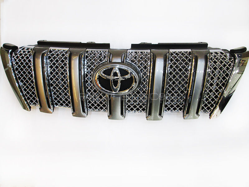 Front Grill Complete Toyota Prado
