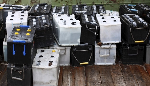 Refurbished car batteries
