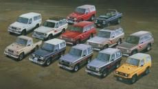 Toyota Land Cruiser Timeline