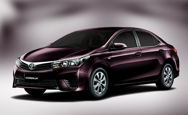 Toyota Corolla 2015 in Pakistan