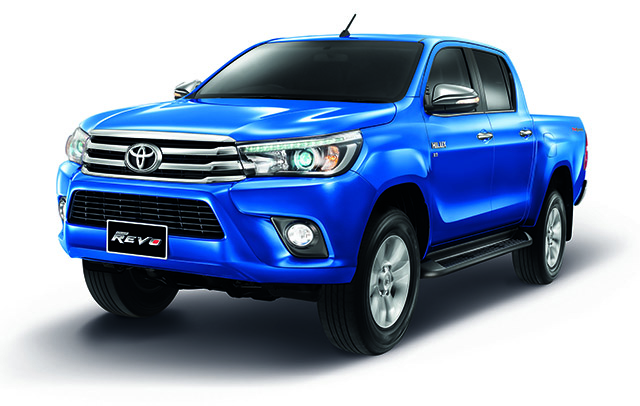 Toyota Hilux Revo Front