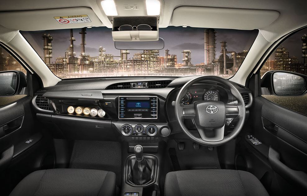 Toyota Hilux Revo Interior