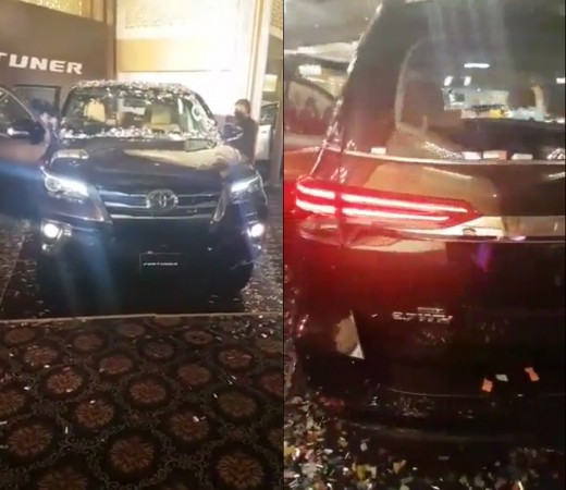 Toyota Fortuner Launched in Pakistan