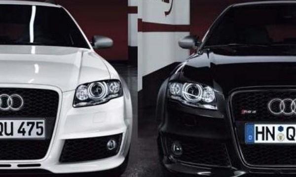 black white cars