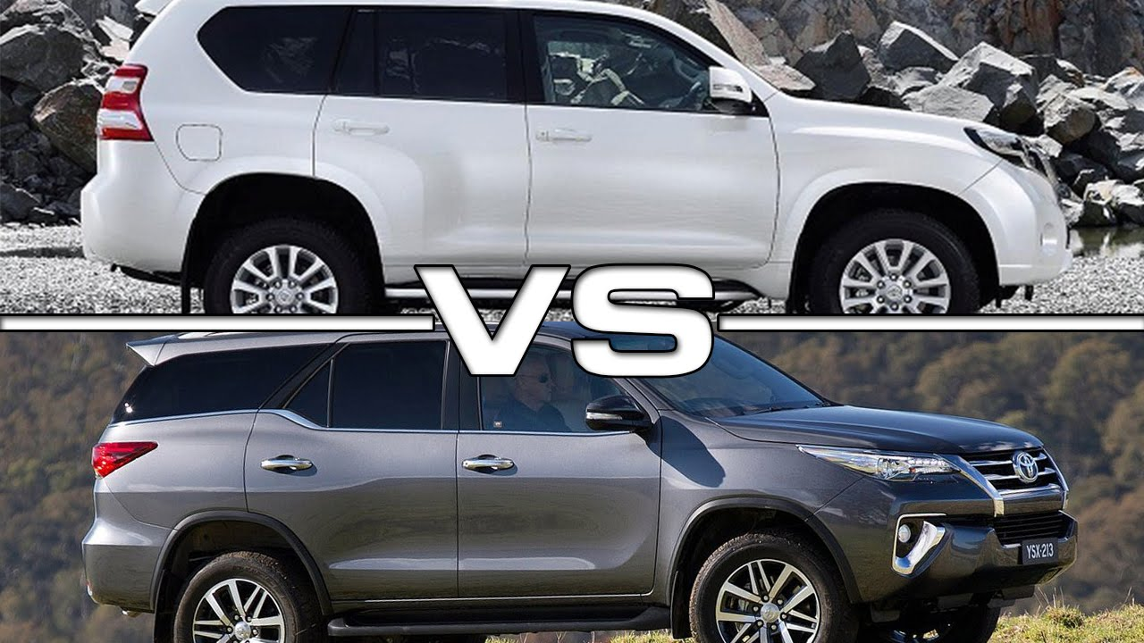 Toyota Fortuner And Toyota Prado Comparison