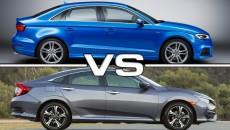 Audi A3 VS Civic