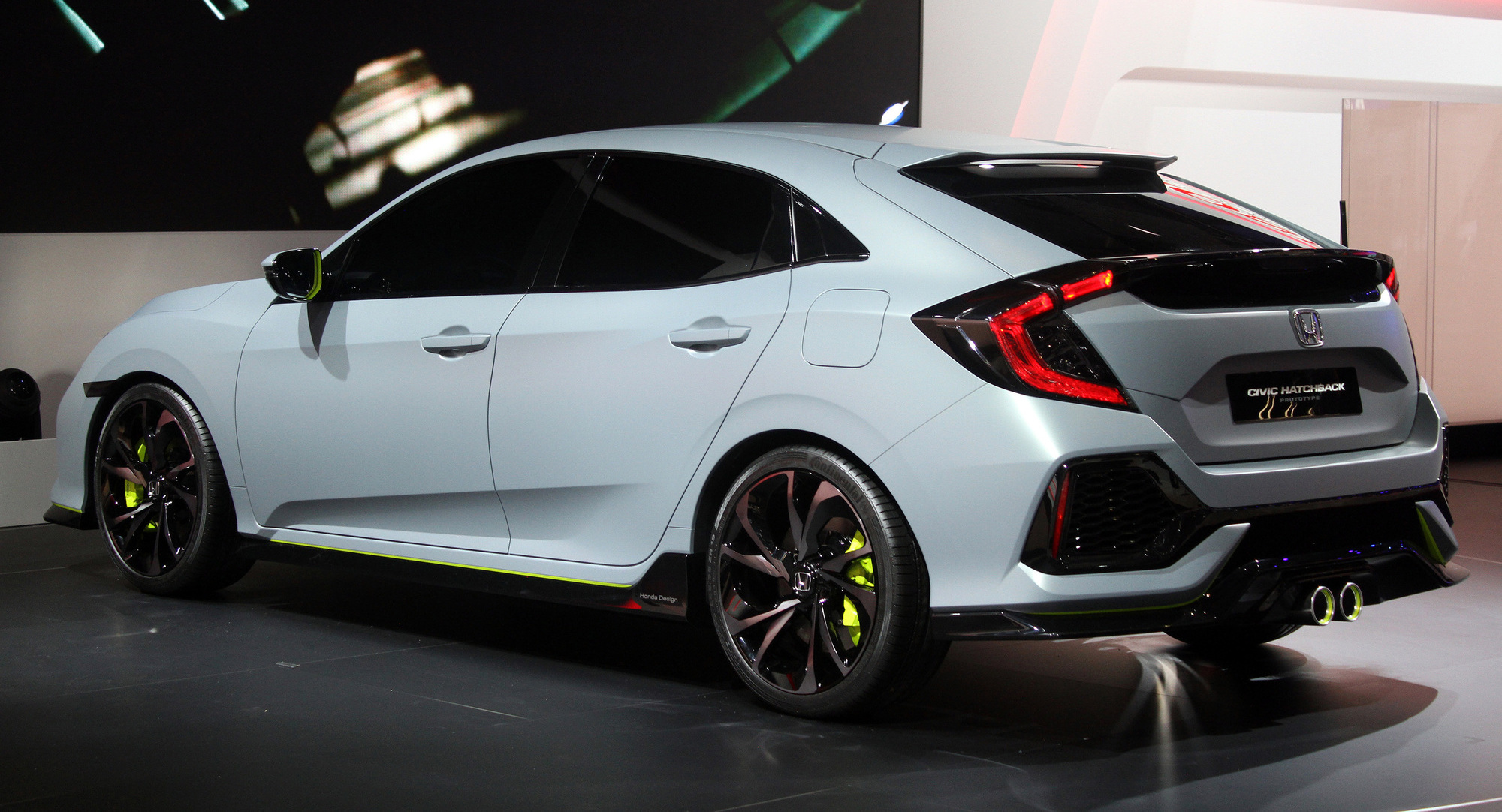 Attractive New Honda Civic Will Be Available In Seven Eye Catching Colors. The Civic  2017 Is Predicted To Be Fuel Efficient.