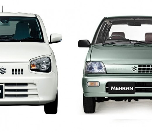Suzuki Alto and Mehran