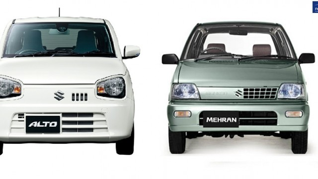 Suzuki Alto and Mehran