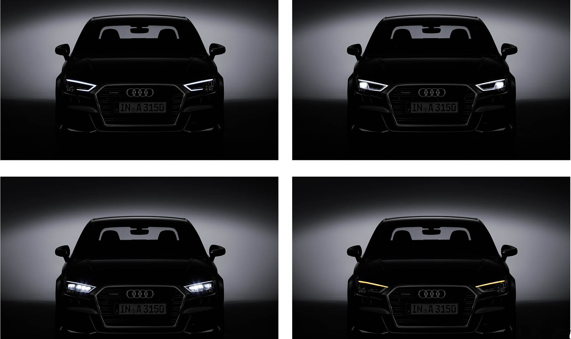 Audi A3 LED headlights 2017 update