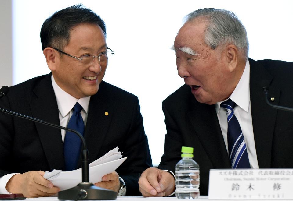 Toyota Suzuki CEO