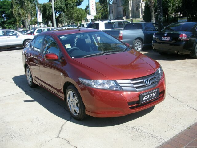 Honda City now discontinued Habanero Red Color