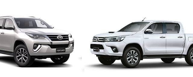 Revo and Fortuner