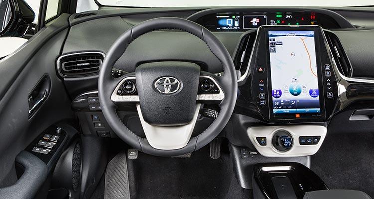 Toyota Prius Prime 2017 Interior