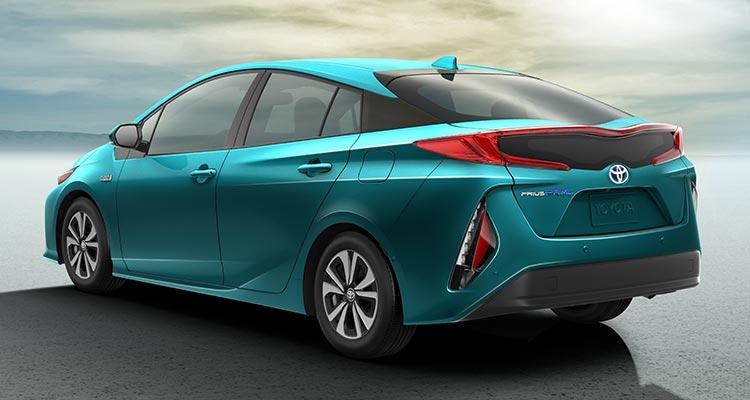 Toyota Prius Prime 2017 back