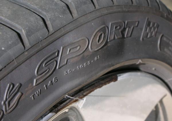 Tyre Bulging