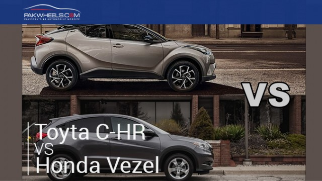 Vezel vs C-HR featured