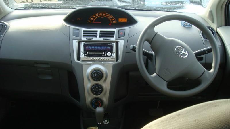 Vitz interior