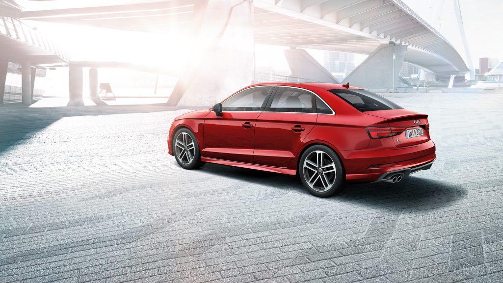 Audi A3 facelift exterior