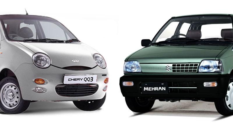 Suzuki-mehran-v-chery-qq
