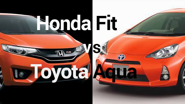 toyota aqua vs honda fit which one is best hybrid vehicle. Black Bedroom Furniture Sets. Home Design Ideas