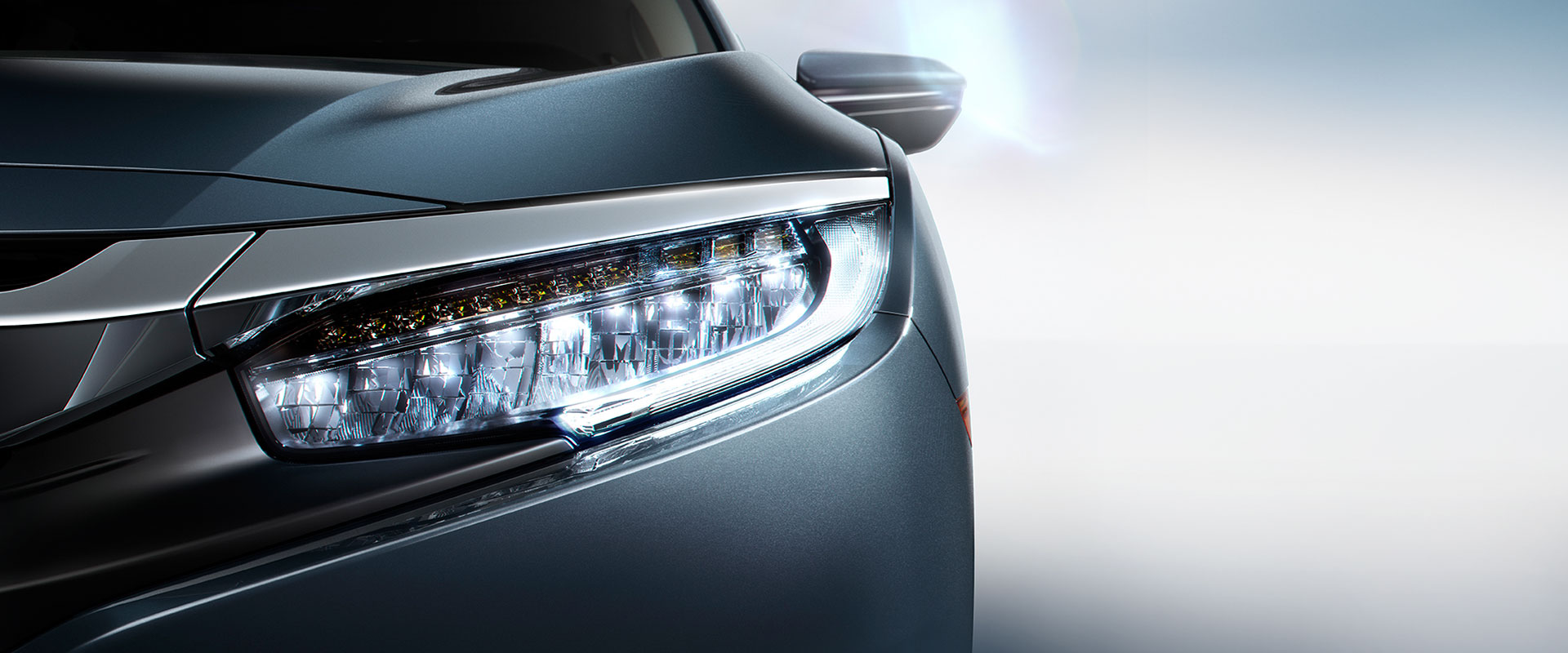 Honda Civic X headlights
