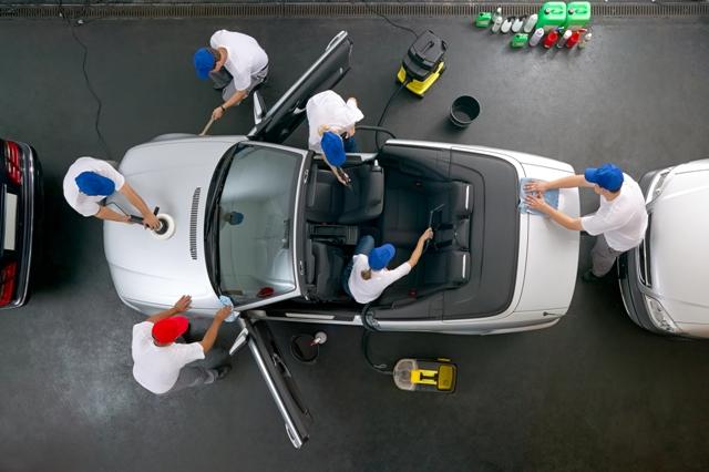 Inspect car