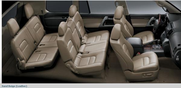 Land Cruiser Seating