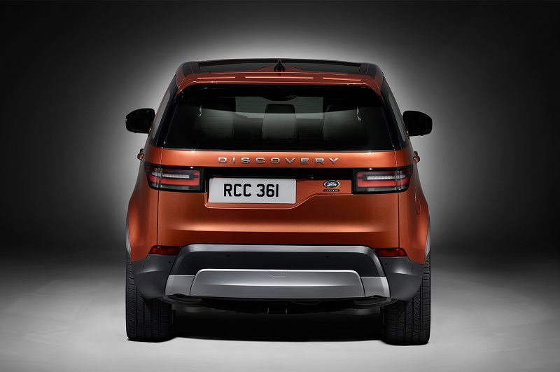 Land Rover Discovery 2017 rear